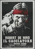 "Movie Posters:Academy Award Winner, The Deer Hunter (Titanus, 1978). Italian 2 - Folio (39"" X 55"").Academy Award Winner...."