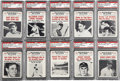 Baseball Cards:Sets, 1961 Nu-Card Scoops Complete Set (80). Very attractive set featuring highlights of baseball's all-time greatest players. Dif...