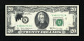 Error Notes:Ink Smears, Fr. 2069-K $20 1969B Federal Reserve Note. Gem Crisp Uncirculated.....