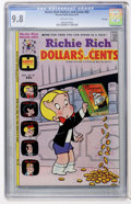 Bronze Age (1970-1979):Humor, Richie Rich Dollars and Cents #62 File Copy (Harvey, 1974) CGCNM/MT 9.8 Off-white pages....