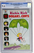 Bronze Age (1970-1979):Cartoon Character, Richie Rich Dollars and Cents #55 File Copy (Harvey, 1973) CGC NM+9.6 Off-white to white pages....