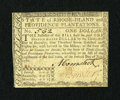Colonial Notes:Rhode Island, Rhode Island July 2, 1780 $1 Fully Signed About New....