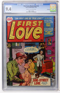 Golden Age (1938-1955):Romance, First Love Illustrated #15 File Copy (Harvey, 1951) CGC NM 9.4Cream to off-white pages....