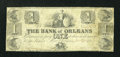 Obsoletes By State:Louisiana, New Orleans, LA- Bank of Orleans $1 Oct. 21 1837 . ...