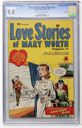 Golden Age (1938-1955):Romance, Love Stories of Mary Worth #2 File Copy (Harvey, 1949) CGC VF/NM9.0 Cream to off-white pages....