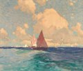 Fine Art - Painting, American:Modern  (1900 1949)  , EDGAR ALWIN PAYNE (American, 1882-1947). Laguna Beach. Oilon canvas. 23 x 27 inches (58.4 x 68.6 cm). Signed lower righ...