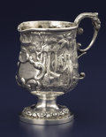 Silver & Vertu:Hollowware, AN AMERICAN COIN SILVER PITCHER. George W. Stewart, Lexington, Kentucky, circa 1845. Marks: GW STEWART, LEX. KY. 5-3/8 i...