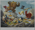 """Original Comic Art:Miscellaneous, Carl Barks - """"Trespassers Will Be Ventilated,"""" Regular EditionLithograph, #14/345 (Another Rainbow, 1987).... (Total: 2 Items)"""