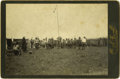 Photography:Cabinet Photos, O.S. (Orlando Scott) Goff Photograph of Grass Dance ca 1890s. ...