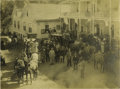 "Western Expansion:Cowboy, Large Format Photograph of ""Spier's Stagecoach"" Calistoga,California early 1900s. ..."