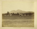 """Photography:Cabinet Photos, Imperial Size Photograph """"Mt. Shasta"""" From C. P. R. R. ca 1880. ..."""