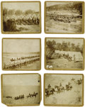"""Military & Patriotic:Indian Wars, Lot of Six Photographs of the 2nd U. S. Cavalry, Troop """"E"""" New Mexico, ca. 1880s-1890s.... (Total: 6 Items)"""