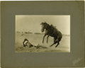 Western Expansion:Cowboy, Imperial Size Photograph Wild West Frontier Days Cheyenne, Wyomingca 1890s-1900s - ...