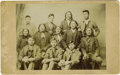 Western Expansion:Indian Artifacts, Imperial Size Photograph of Indian Family Carlisle, Pennsylvania,ca. 1890s....