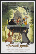 """Movie Posters:Animated, The Jungle Book (Buena Vista, R-1984). One Sheet (27"""" X 41""""). Animated. Starring the voices of Phil Harris, Sebastian Cabot,..."""