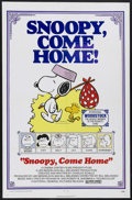 "Movie Posters:Animated, Snoopy, Come Home (National General, 1972). One Sheet (27"" X 41"").Animated Comedy. Starring the voices of Bill Melendez, Ch..."