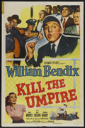 "Movie Posters:Sports, Kill the Umpire (Columbia, 1950). One Sheet (27"" X 41""). Sports Comedy. Starring William Bendix, Una Merkel, Ray Collins and..."