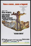"Movie Posters:Western, Nevada Smith (Paramount, 1966). One Sheet (27"" X 41""). Western. Starring Steve McQueen, Karl Malden, Brian Keith, Arthur Ken..."