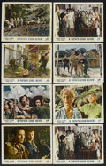 "Movie Posters:War, A Town Like Alice (Rank, 1958). British Lobby Cards (8) (11"" X14""). War. Starring Virginia McKenna, Peter Finch, Takagi, Tr...(Total: 8 Items)"
