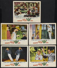 """The Road to Hong Kong (United Artists, 1962). Lobby Cards (5) (11"""" X 14""""). Comedy. Starring Bing Crosby, Bob H..."""