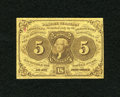 Fractional Currency:First Issue, Fr. 1230 5c First Issue Fine....