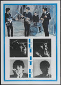 """Movie Posters:Rock and Roll, Let It Be (United Artists, R-1970s). Italian 2 - Folio (39"""" X 55""""). Rock and Roll...."""
