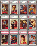 Miscellaneous Collectibles:General, 1956 Topps Elvis Presley High Grade Complete Set (66). Presented isa high grade complete set of the 1956 Topps Elvis Presl...
