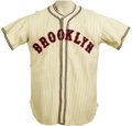 Baseball Collectibles:Uniforms, 1936 Freddie Lindstrom Game Worn Jersey. The Hall of Fame third baseman spent the bulk of his career in the service of the ...