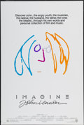 "Movie Posters:Rock and Roll, Imagine: John Lennon (Warner Brothers, 1988). One Sheet (27"" X40.5""). Rock and Roll...."