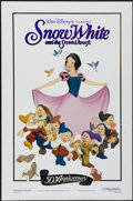 "Movie Posters:Animated, Snow White and the Seven Dwarfs (Buena Vista, R-1987). 50th Anniversary One Sheet (27"" X 41""). Animated...."