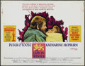 """Movie Posters:Historical Drama, The Lion in Winter (Columbia, 1968). Half Sheet (22"""" X 28"""").Historical Drama...."""