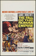 "Movie Posters:Historical Drama, The Fall of the Roman Empire (Paramount, 1964). Window Card (14"" X22""). Historical Drama...."