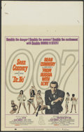 """Movie Posters:James Bond, Dr. No/From Russia with Love Combo (United Artists, R-1965). Window Card (14"""" X 22""""). James Bond...."""