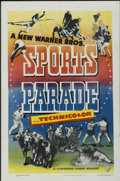 "Movie Posters:Sports, Sports Parade Stock Poster (Warner Brothers, 1948). One Sheet (27"" X 41""). Sports...."