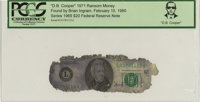 """""""D. B. Cooper"""" 1971 Ransom Money. Serial #L01781113A. Series 1969 $20 Federal Reserve Note"""