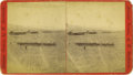 Military & Patriotic:Indian Wars, Stereoview of Cavalry Troops, Fort Apache, Arizona Territory, ca. 1870s....