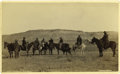 "Western Expansion:Cowboy, Imperial Size Photograph of ""Montana Cowboy's"" by F. J. Haynes, ca.1880s. ..."