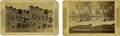 Western Expansion:Cowboy, Two Stereoviews of New Mexico, Territory ca 1880s - ... (Total: 2Items)