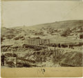 Western Expansion:Cowboy, Imperial Size Photograph of Silver City, New Mexico Territory ca1890s - ...