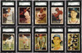 Baseball Cards:Sets, 1957 Topps Baseball Complete Set (407). Presented is a mid to high grade 1957 Topps baseball set. With a very tough mid seri...