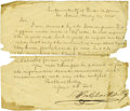 Western Expansion:Lewis & Clark, William Clark (Lewis & Clark Fame) Letter Signed toSuperintendent of Indian Affairs. ...