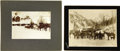 Western Expansion:Goldrush, Two Imperial Size Photographs of Sneffles, Colorado, ca. 1890s....(Total: 2 Items)