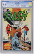 Silver Age (1956-1969):Superhero, The Flash #123 (DC, 1961) CGC NM 9.4 Off-white to white pages....