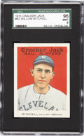 Baseball Cards:Singles (Pre-1930), 1915 Cracker Jack William Mitchell #62 SGC 96 Mint 9. Cracker Jacksare forever intertwined with the game of baseball and t...