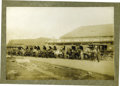 Photography:Cabinet Photos, Imperial Size Photograph American Express Wagons Portland, Oregonca 1890-1900 - ...