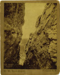 "Western Expansion:Goldrush, Lot of Three Imperial Size Photographs of ""Black Hills, SouthDakota,"" ca. 1890s. ... (Total: 3 Items)"