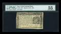 Colonial Notes:New York, New York March 5, 1776 $2/3 PMG About Uncirculated 55....