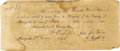 Western Expansion:Cowboy, Rare Republic of Texas Financial Document ca 1845 - ...