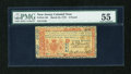 Colonial Notes:New Jersey, New Jersey March 25, 1776 £3 PMG About Uncirculated 55....