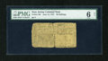 Colonial Notes:New Jersey, New Jersey June 14, 1757 30s PMG Good 6 Net....